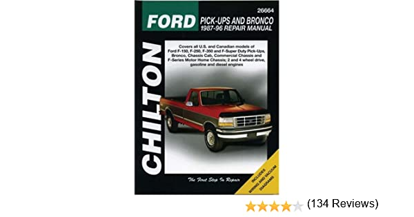 Chiltons ford pick ups and bronco 1987 96 repair manual chiltons ford pick ups and bronco 1987 96 repair manual chiltons total car care repair manual jaffer a ahmad 9780801988288 amazon books fandeluxe Choice Image