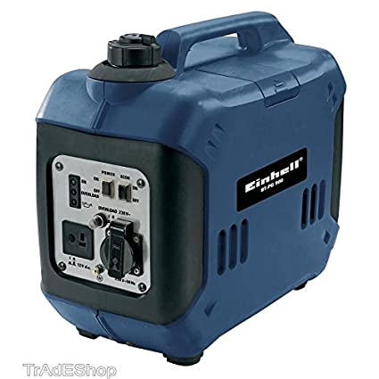 tradeshoptraesio® – Generador de corriente Inverter BT-PG 900 1000 W Grupo electrógeno a