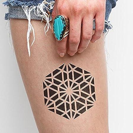 Tatuaje Temporal Tattify - Flotar - Cerveza de raíz (juego de 2 ...