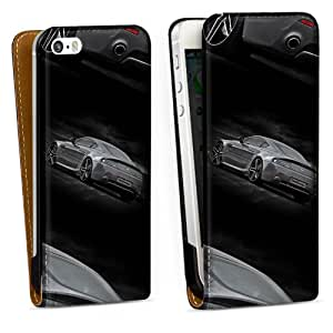Diseño para Apple iPhone 5 S DesignTasche Downflip black - Aston Martin DB9