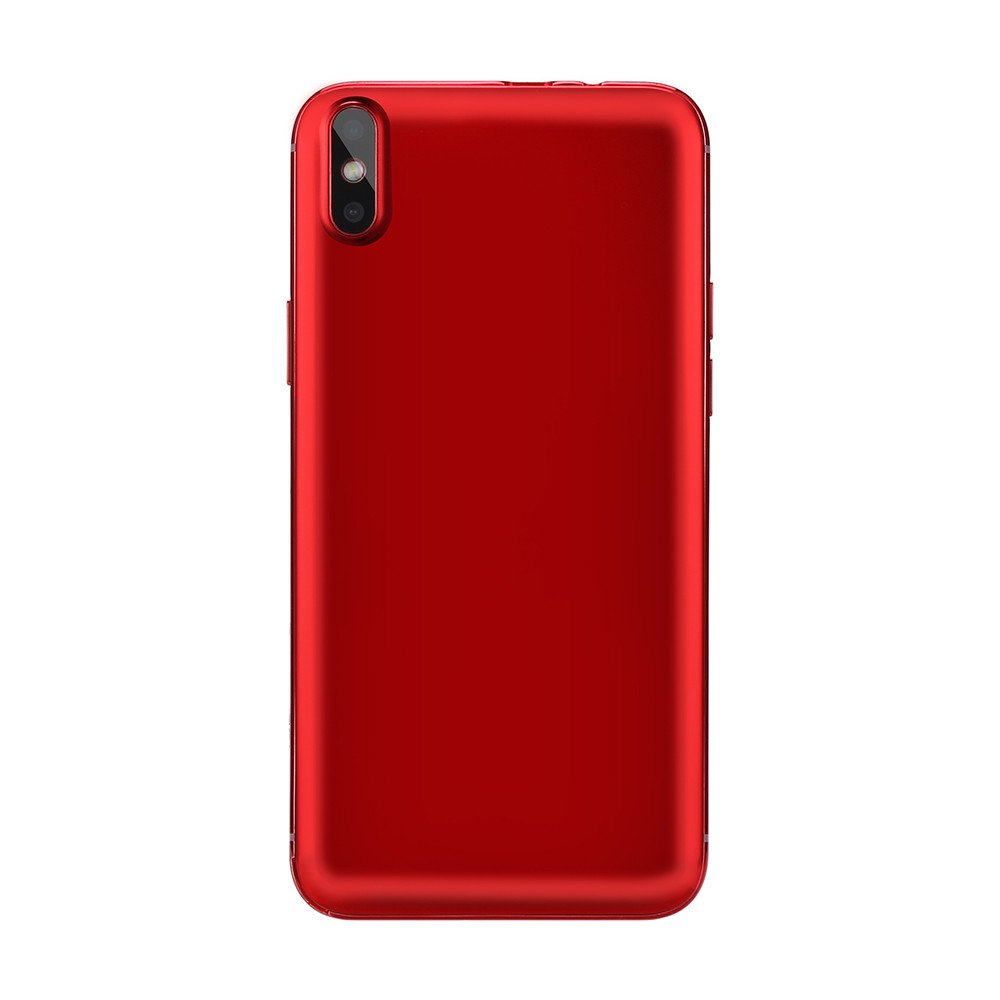 Unlocked Android Smartphone -5.0'' Full Screen Dual SIM Dual HD Camera Cell Phone 1G+4G GPS 3G Call Mobile Phone (Red, X8(Android 6.0)) by Aritone (Image #4)