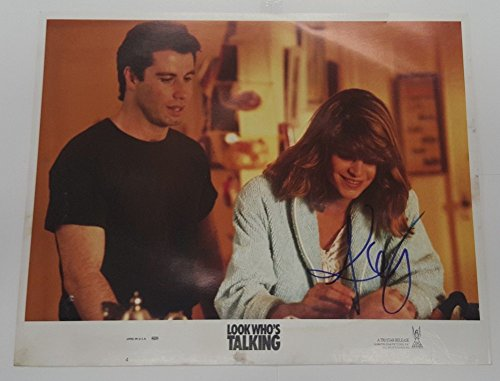 Kirstie Alley Signed Look WhoS Talking Auto Autograph 11x14 Photo JSA Certified - Authentic Signed Autograph