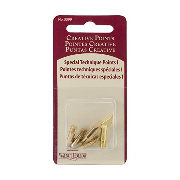 Walnut Hollow Replacement Points Tips for Woodburners and Hot Tools Set No1