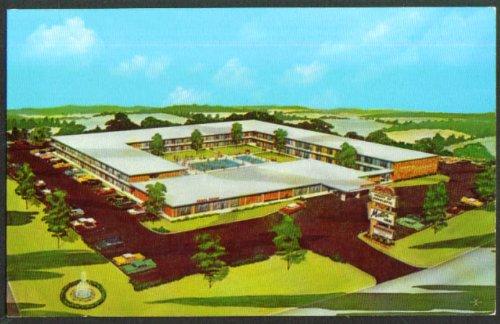Heart of Charlotte Motor Inn US 29 NC postcard - Charlotte Nc Us