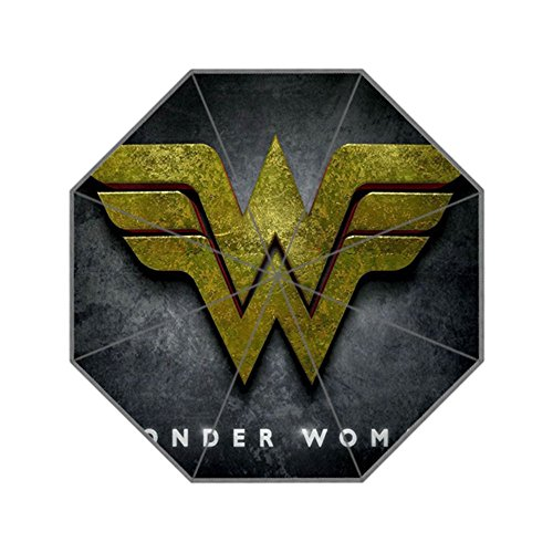 ScottShop Wonder Woman Custom Generic Foldable Umbrella Sun Rain - Woman Umbrella Wonder