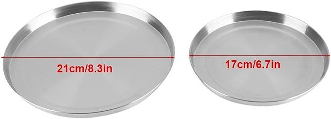 Estufa de Gas Protector, La Hornilla Superior de la Estufa de Cocina del Acero Inoxidable Cubre la Protección de la Cocina, 4Pcs / Set