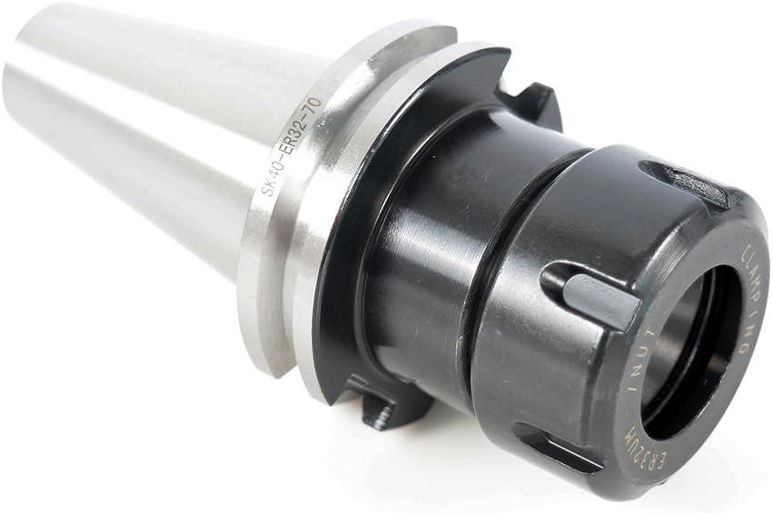 per fresatura CNC tornio trattamento antiruggine durevole SK40-ER32-70 Arbor portautensili in lega di acciaio temprato CNC