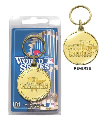 (Highland Mint Boston Red Sox 2013 World Series Champions Bronze Mint Coin Keychain)