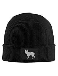 LOVEBABY French Bulldog Sketch Men's Beanie Hat Knit Cap