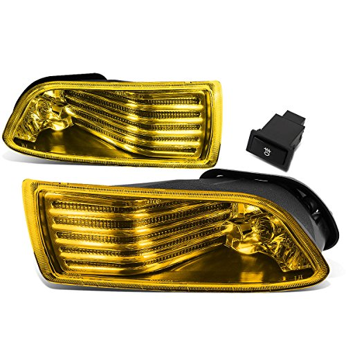 For Scion tC Pair of Bumper Driving Fog Lights w/Switch (Amber Lens)