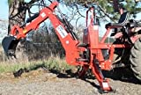 Farmer Helper Tractor Backhoe, 8'Dig 3-Pt Self Contained, PTO Powered Cat.I 30Hp+ (FH-BH8)