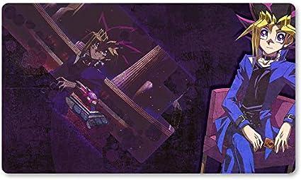 Yugi Mutou - Alfombrilla de juego Yugioh para juegos de mesa (60 x 35 cm), diseño de lado oscuro de Dime Pokemon Magic The Gathering: Amazon.es: Oficina y papelería