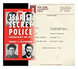 The Tsarist Secret Police and Russian Society, 1880-1917, Zuckerman, Fredric S., 0814796737