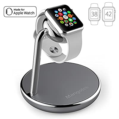 Mangotek Apple Watch Charging Stand, with Magnetic Charger Module and USB Port for iWatch Series 4/3/2/1 (38mm/40mm/42mm/44mm) and iPhone, Nightstand Mode Apple MFi Certified (Apple Watch Charger) - 4002624 , B074XG56YV , 454_B074XG56YV , 48.99 , Mangotek-Apple-Watch-Charging-Stand-with-Magnetic-Charger-Module-and-USB-Port-for-iWatch-Series-4-3-2-1-38mm-40mm-42mm-44mm-and-iPhone-Nightstand-Mode-Apple-MFi-Certified-Apple-Watch-Charger-454_B074XG5