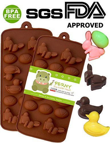 PERNY Easter Ugly duckling, Rabbit and Easter Eggs Shapes Si