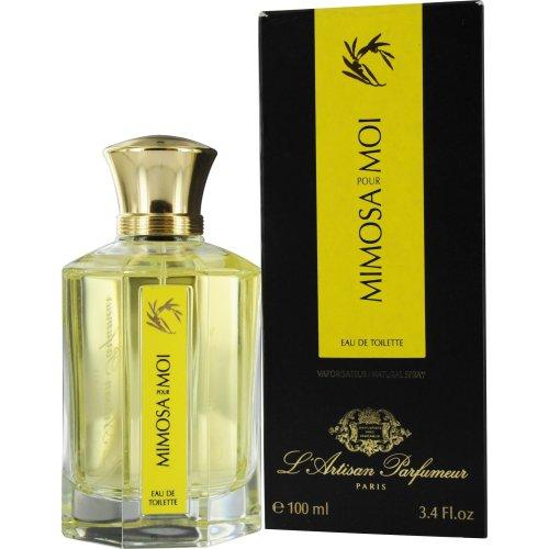 L'Artisan Parfumeur Mimosa Pour Moi Eau de Toilette Spray, 3.4 Ounce (Feminine Gel Eau De Toilette)