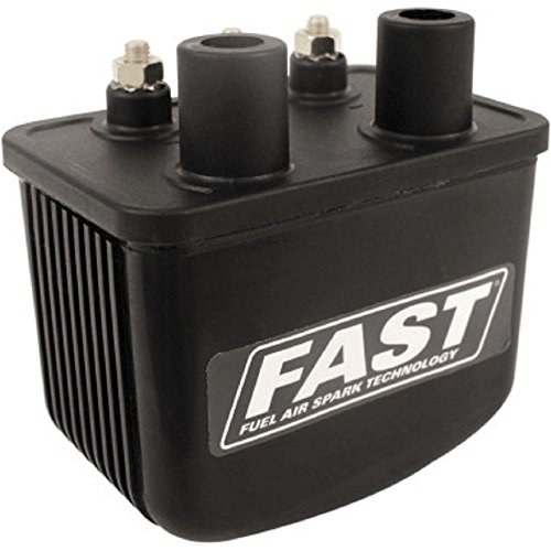 V-Thunder/Competition Cam Fast Ignition Coil - Single-Fire - 3 Ohm - 3.25in. L x 2.75in. W x 3.25in. H - Coil Super Single Fire