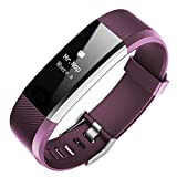 Geelyda Fitness Tracker, Customized Activity Tracker with Heart Rate Monitor, 14 Sports Modes
