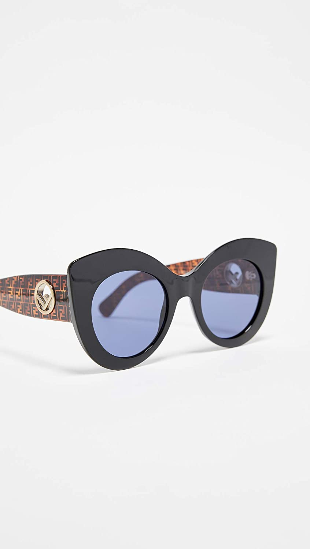 4fb7e2932aa72 Amazon.com  Fendi Women s Cat Eye Sunglasses