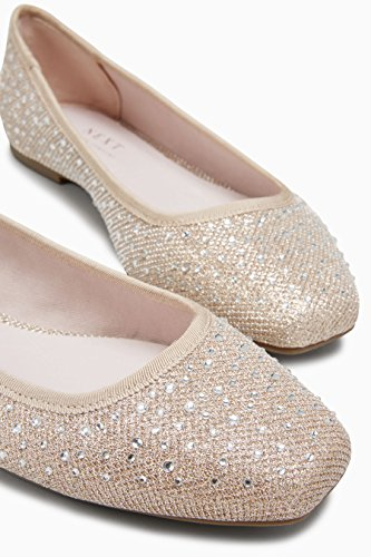 Next Ultra Confortables Femme Sparkle Ballerines Shimmer RwSwO