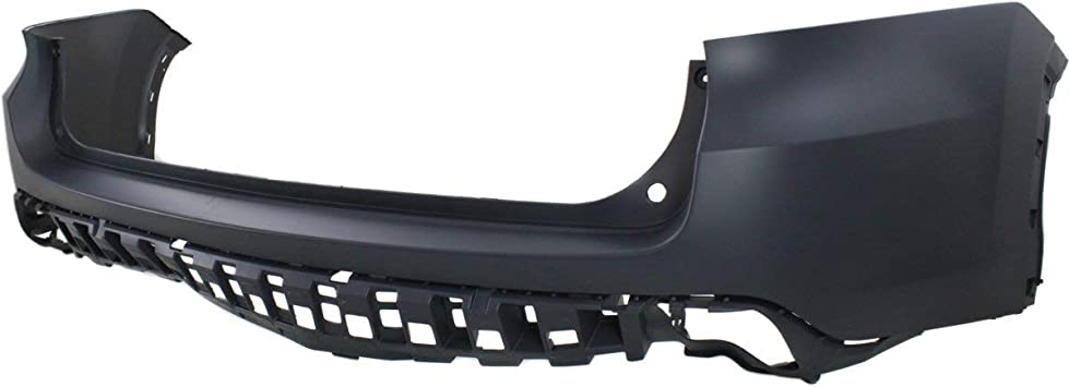 TO1114100 NEW UPPER BUMPER COVER REAR FOR TOYOTA HIGHLANDER 2014-2018