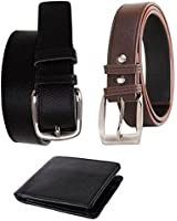 Kesari Men'S Belts & Suspender (Sq-Agi-115_Black_Free Size)