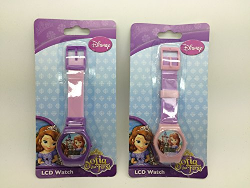 Disney Princess Sofia the First LCD Watch Set of 2 for ()