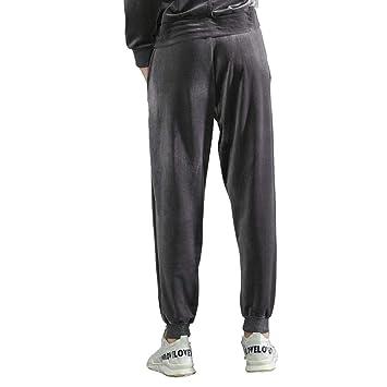 XXPF Pantalones Deportivos Casuales Sueltos Pantalones de ...
