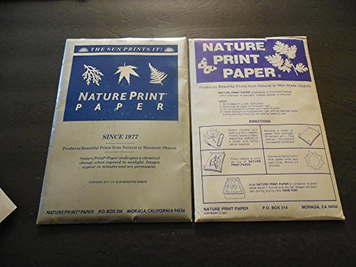 2 New packs Nature Print Paper - 5 x 7 inch - Pack of 30- 60 Sheets
