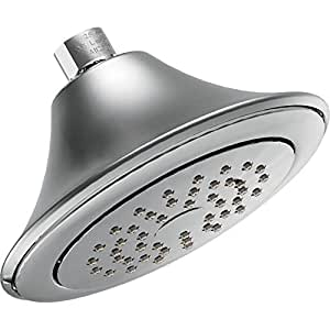 showering acc premium standard shower head finish chrome flow rate 2 5 gpm. Black Bedroom Furniture Sets. Home Design Ideas