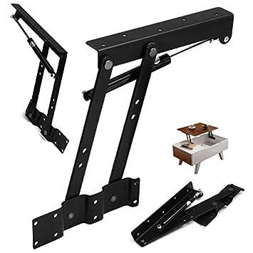 Klappscharnier Tischplatte.1 Paar Tischlift Top Couchtisch Hydraulischen Arme Scharnier Hardware Montage Tisch Scharnier Möbel Zubehör Multi Funktion Pneumatische Luftfeder