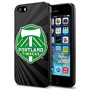 Soccer MLS PORTLAND TIMBERS SOCCER CLUB FOOTBALL FC Logo, Cool iPhone 4/4s Smartphone Case Cover Collector iphone Black