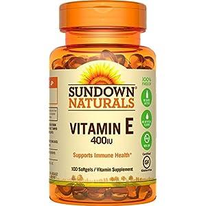 Vitamin E 400 IU Di-Alpha, 100 Synthetic Softgels -100 Ct, 2 Pack