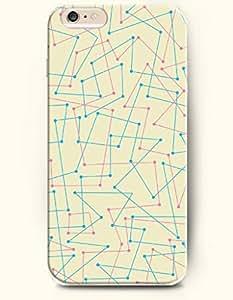 SevenArc Apple iPhone 6 Case 4.7 Inches - Straight Line Linking Together-Irregular Pattern wangjiang maoyi