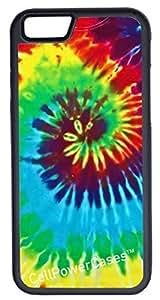 Super iPhone 6 Case, CellPowerCasesTM Tie Dye [Flex Series] -iPhone 6 (4.7) Case [iPhone 6 (4.7) V1 ]