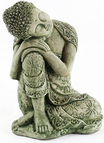 Thai Buddha Meditating Sitting Buddha Garden Statues Concrete Asian Statue Chinese Outdoor Buddhist Statuary