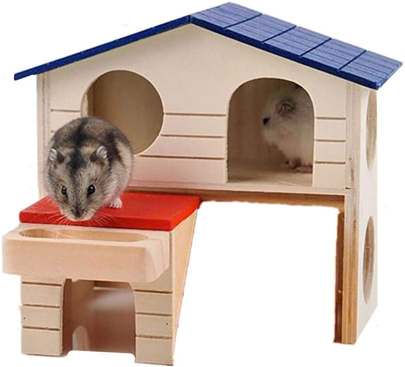 Cobaya Jaula Hamster Hámster Hámster Cama Juguetes De Peluche Hámster Enano Jaula Nuevo Nido De Hámster De Estilo Japonés Hamster Cabina De Dos Pisos