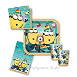 Despicable Me 2 Minions Party Tableware Pack for 16