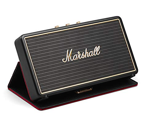 - Marshall Stockwell Portable Bluetooth Speaker with Flip Cover