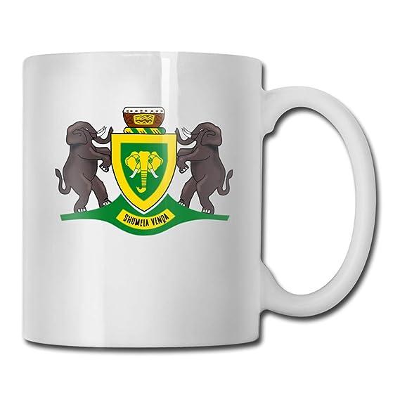 Daawqee Tazas Coffee Mug Coat of Arms of The Republic of Venda Mug ...