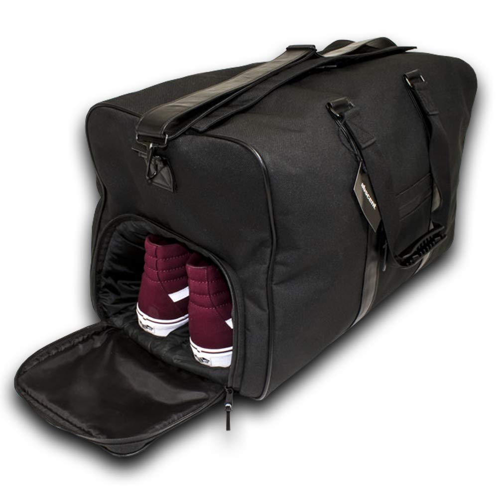 SMELL PROOF The Daily Driver Carbon lined ODOR ABSORBING GYM BAG