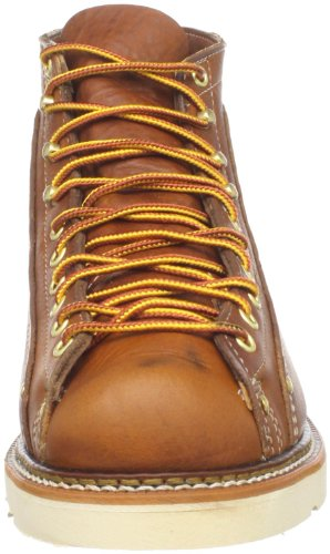 Men's Thorogood Heritage Roofer Boots Tobacco American Toe Lace To OqqpR6r