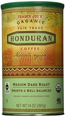 Trader Joe's Organic Fair Trade Honduran Whole Bean Coffee
