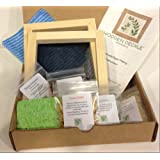 The Classic Paper Making Kit by Wooden Deckle