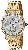 GV2-by-Gevril-Womens-9831-Marsala-Analog-Display-Swiss-Quartz-White-Watch