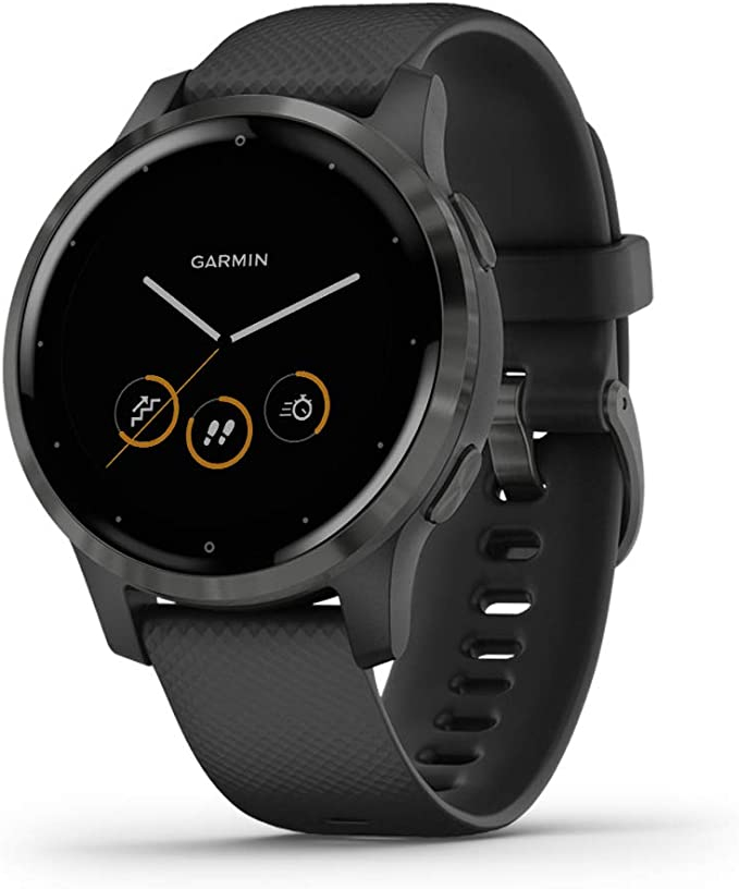 Amazon.com: Garmin vivoactive 4, GPS Smartwatch, Features Music, Body Energy Monitoring, Animated Workouts, Pulse Ox Sensors and More, Black