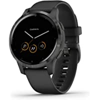 $304 » Garmin vivoactive 4S, Smaller-Sized GPS Smartwatch, Features Music, Body Energy…