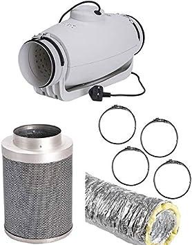 Soler and Palau TD Silent - Kit de ventilación acústica (100 mm ...