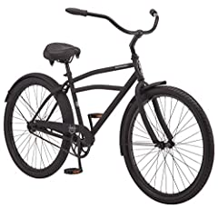 Ride on the sunny side of the street with the Schwinn Huron. The Huron features durable steel frame in a vintage cruiser style – perfect for the beach or bike path. The cruiser handlebar and Schwinn quality padded saddle work together to give...