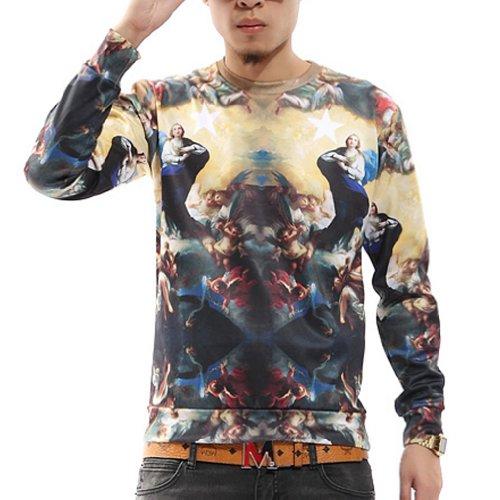 c458fc747b7d Zero Unisex Hip Hop Hyperbolic Religious Palace Sweater Shirts Jacket - Buy  Online in Oman.